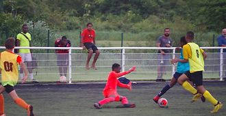 Test d'entrée en section sportive excellence football
